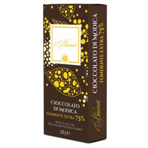 Peluso Cioccolato Modica Fondente Extra 75%