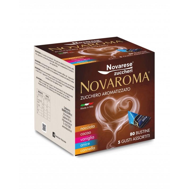 Novaroma Zucchero Aromatizzato